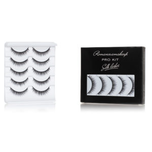 Набор шёлковых ресниц Romanovamakeup (only S-3) Silk Lashes ProKit