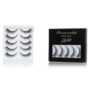 Набор шёлковых ресниц Romanovamakeup (only S-2) Silk Lashes ProKit