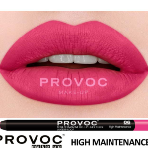 Полуперманентный гелевый карандаш для губ №06 (цв.малиновый) PROVOC Gel Lip Liner High Maintenance