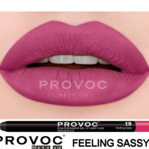Полуперманентный гелевый карандаш для губ №19 (цв. малиновый) PROVOC Gel Lip Liner Feeling Sassy